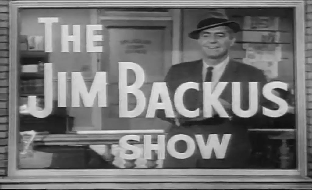 Backus show opening credits
