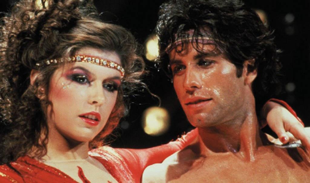 John Travolta after dancing