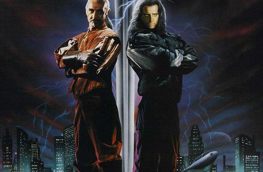 Sean Connery and Christopher Lambert cover