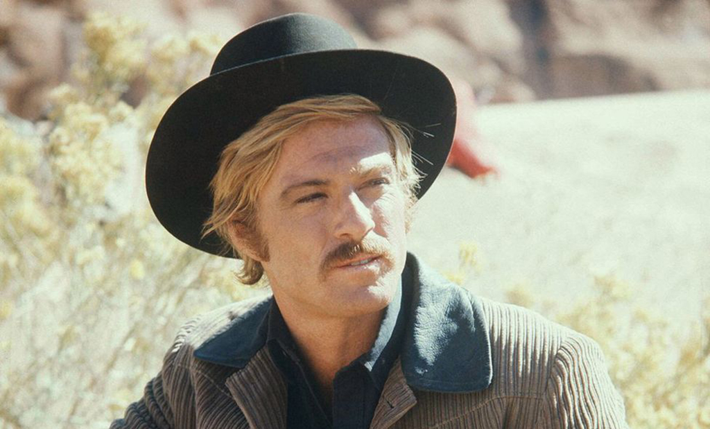 Redford as the Sundance Kid