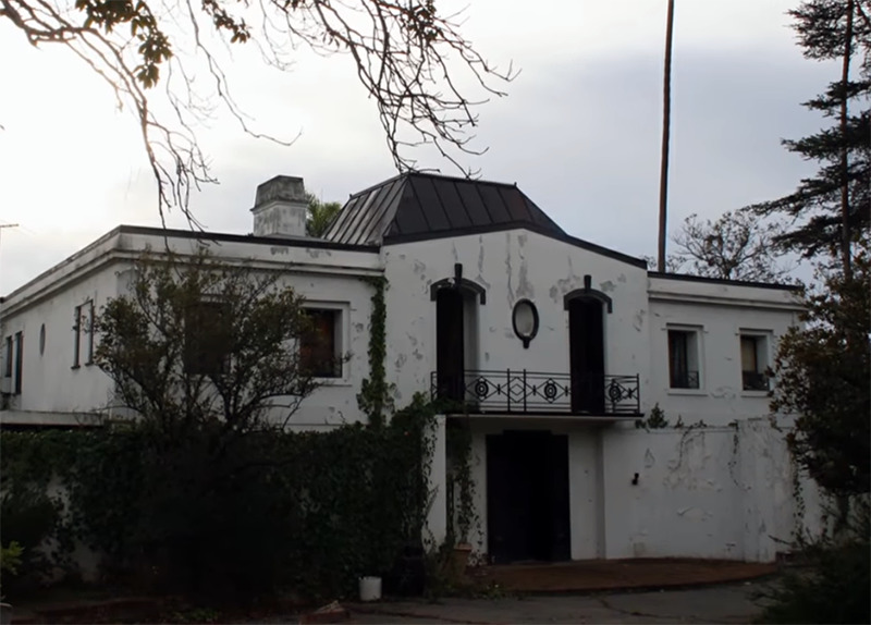 The Old Mansion From The Front