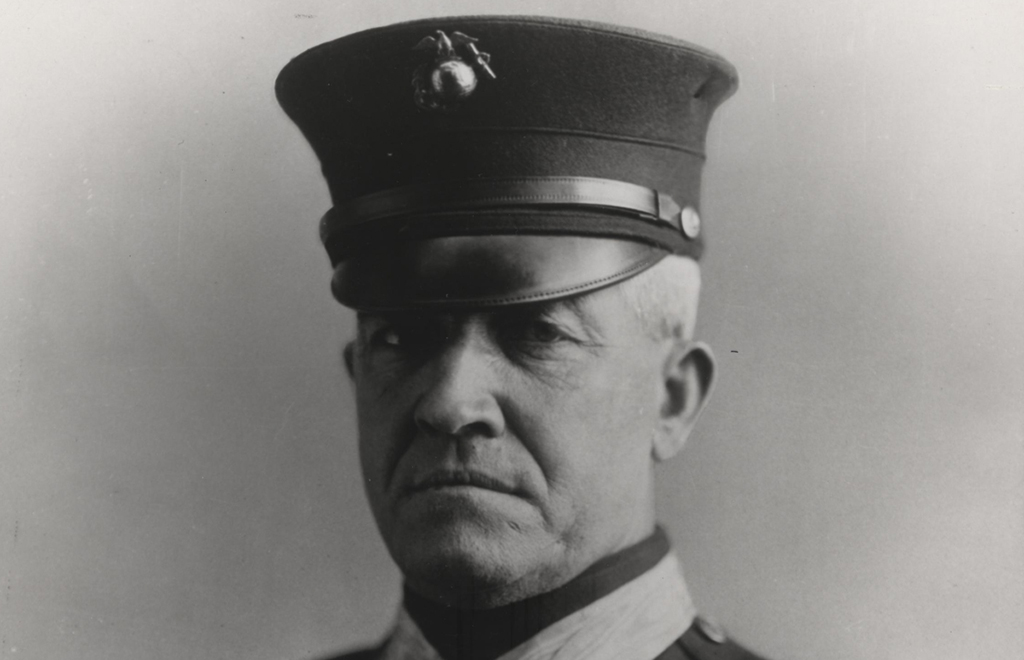 Daly in his uniform
