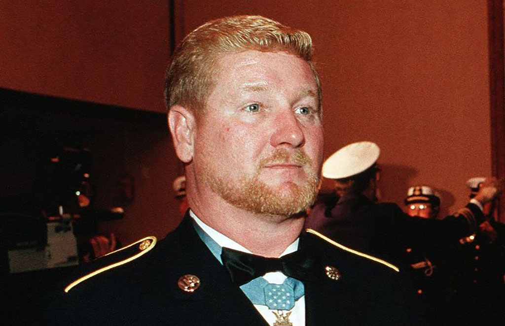 Davis attending the Medal of Honor Ball