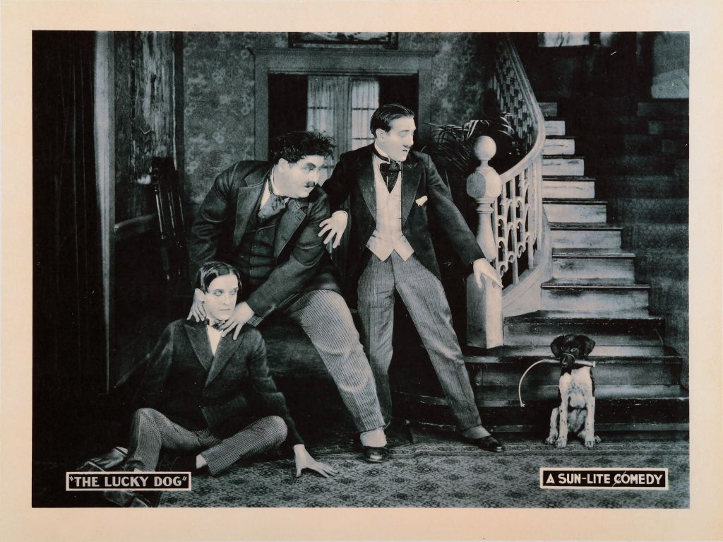 Laurel And Hardy's First Film Together Was The Lucky Dog
