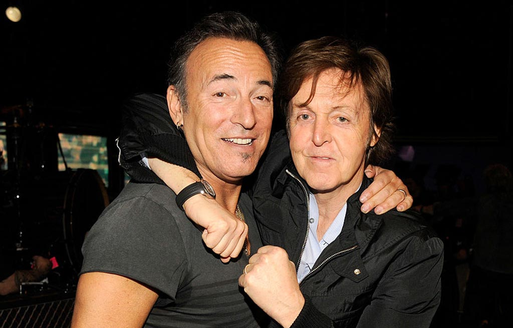 Springsteen and McCartney