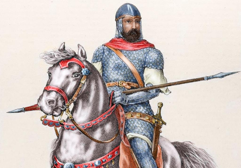 Painting of El Cid