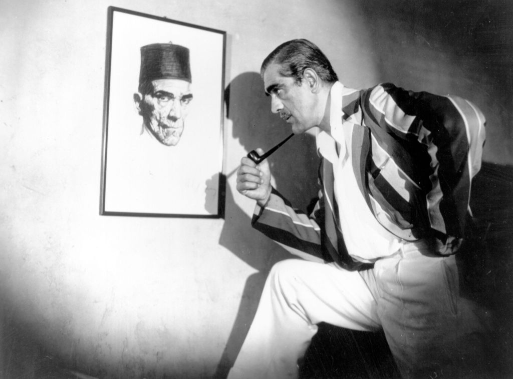 boris karloff haunted bela lugosi