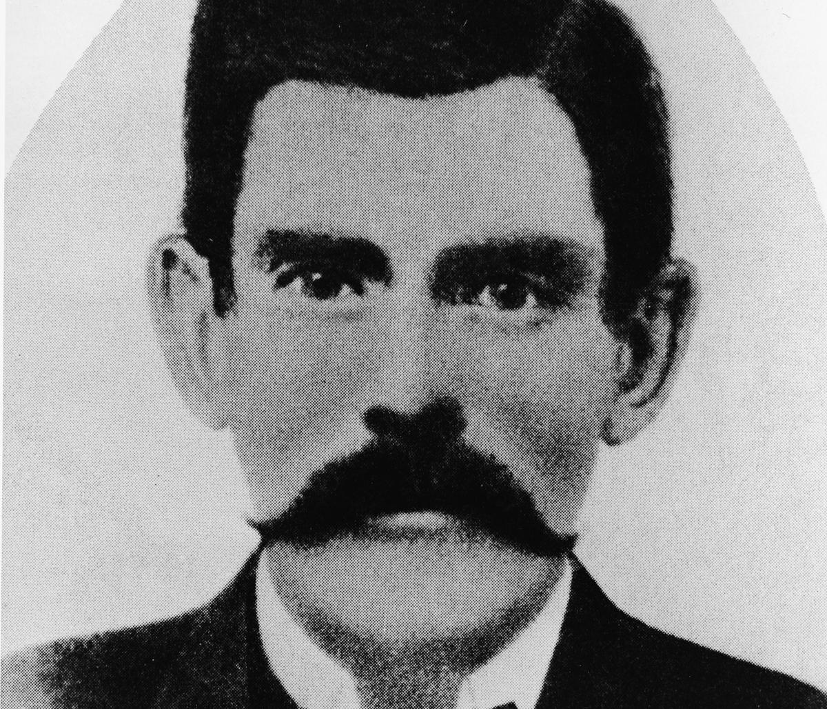 Portrait of American dentist, gambler and gunslinger