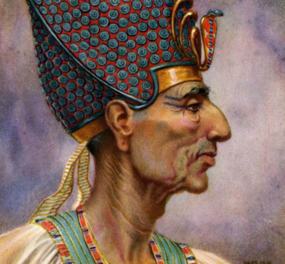 Rameses II, Ancient Egyptian pharaoh of the 19th Dynasty, 13th century BC (1926).