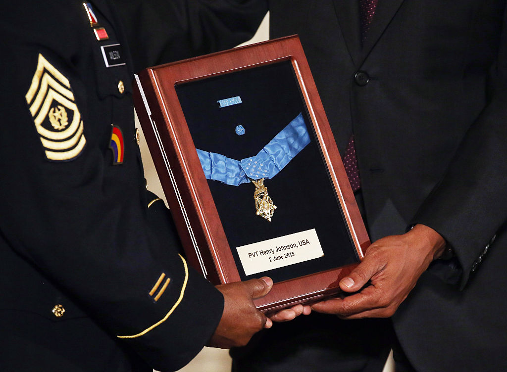 medal of honor being awarded