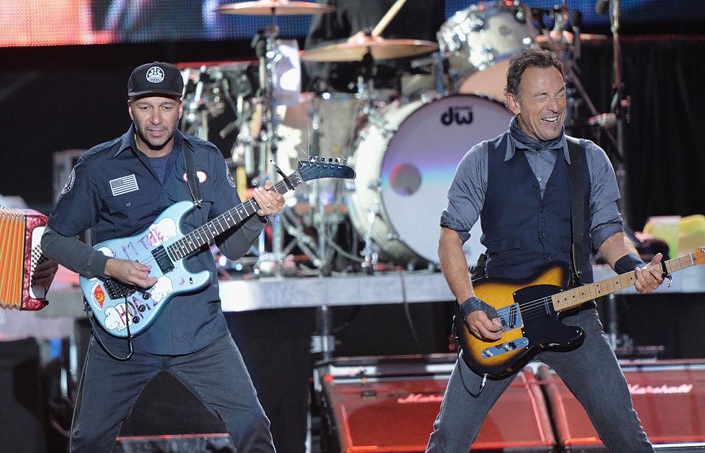 Springsteen and Tom Morello