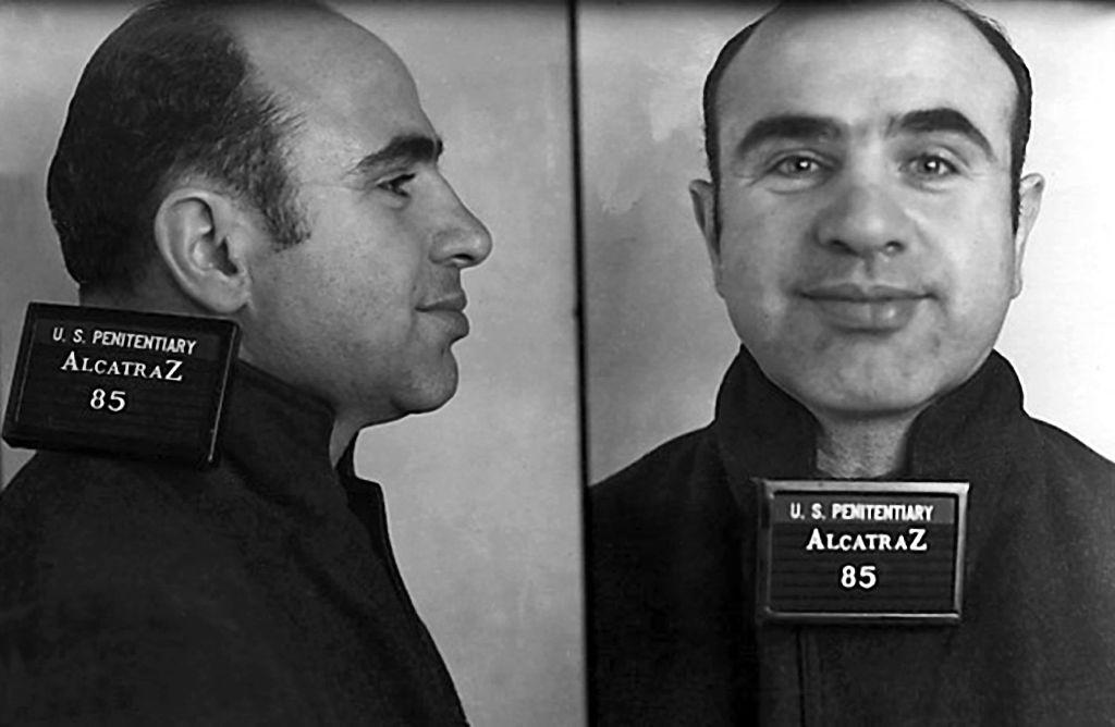 al capone at alcatraz prison