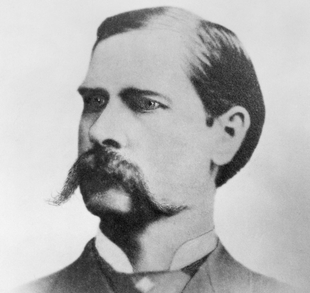 Portrait of Marshall Wyatt Earp, 1886