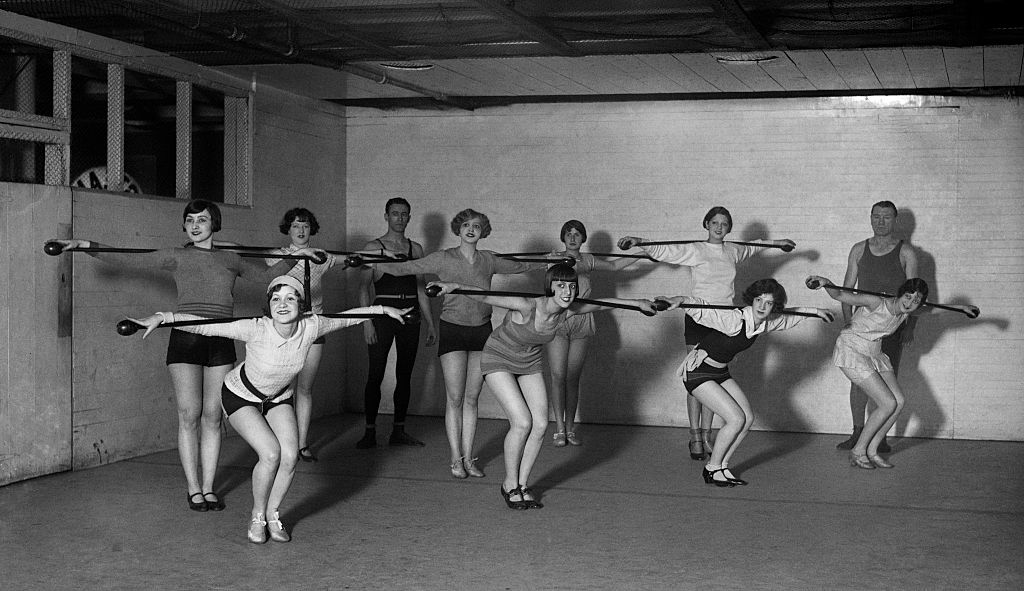 Baton Twirling Class Used To Be Very Popular