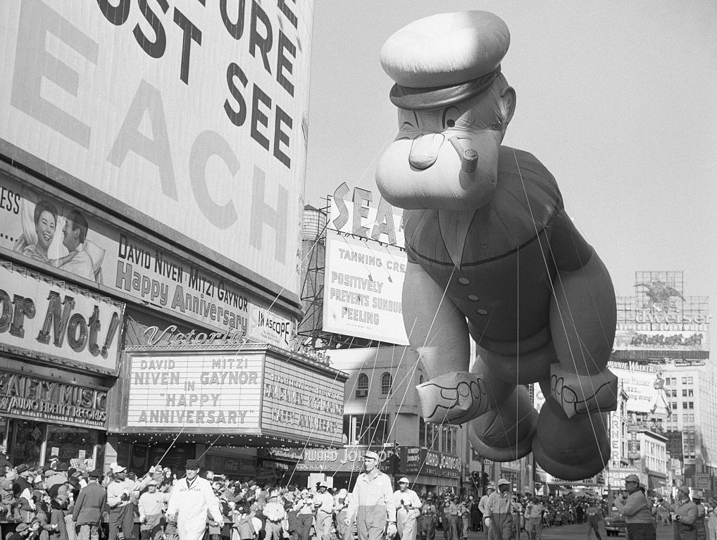 Popeye's Balloon Is Retired From The Macy's Parade