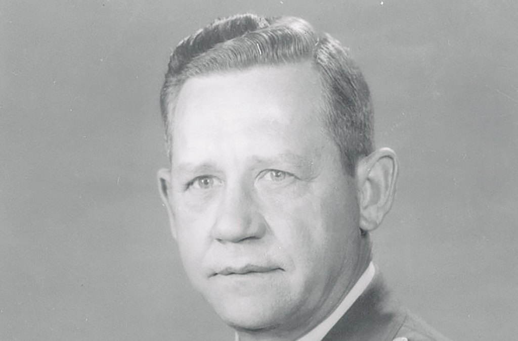 Hollingsworth in uniform