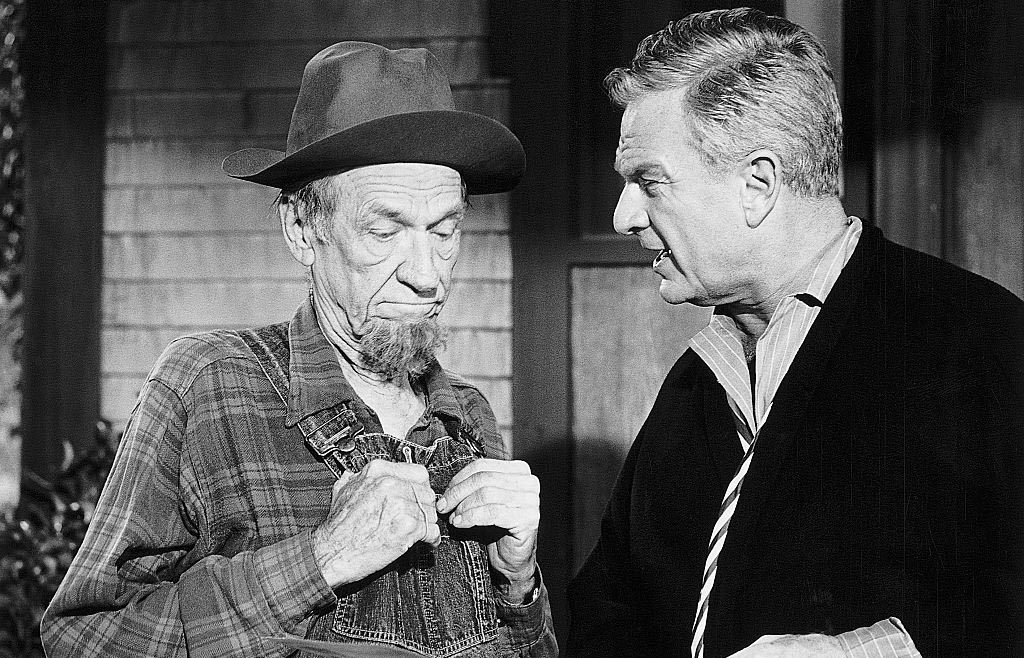 Hank Patterson and Eddie Albert