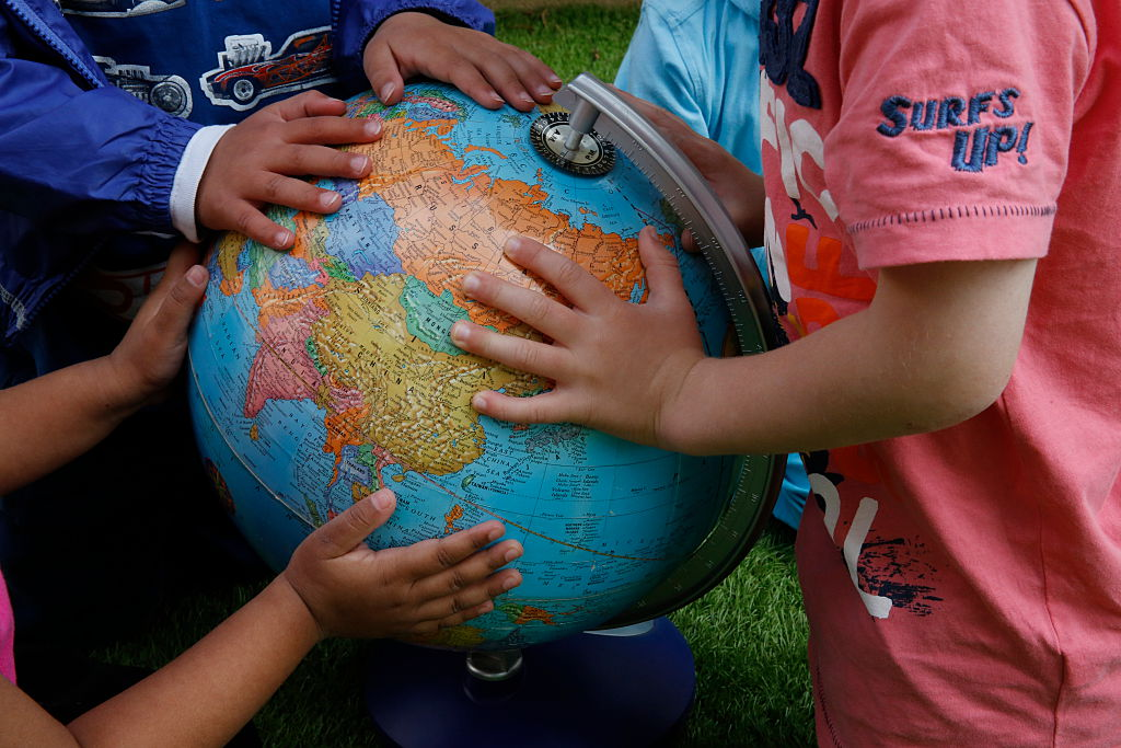Children No Longer Need A Globe To Get A World View