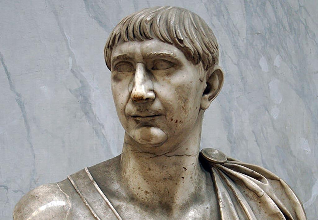 Bust of Trajan