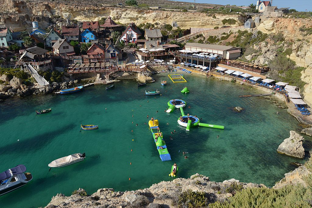 Popeye Village In Malta Is A Major Tourist Attraction