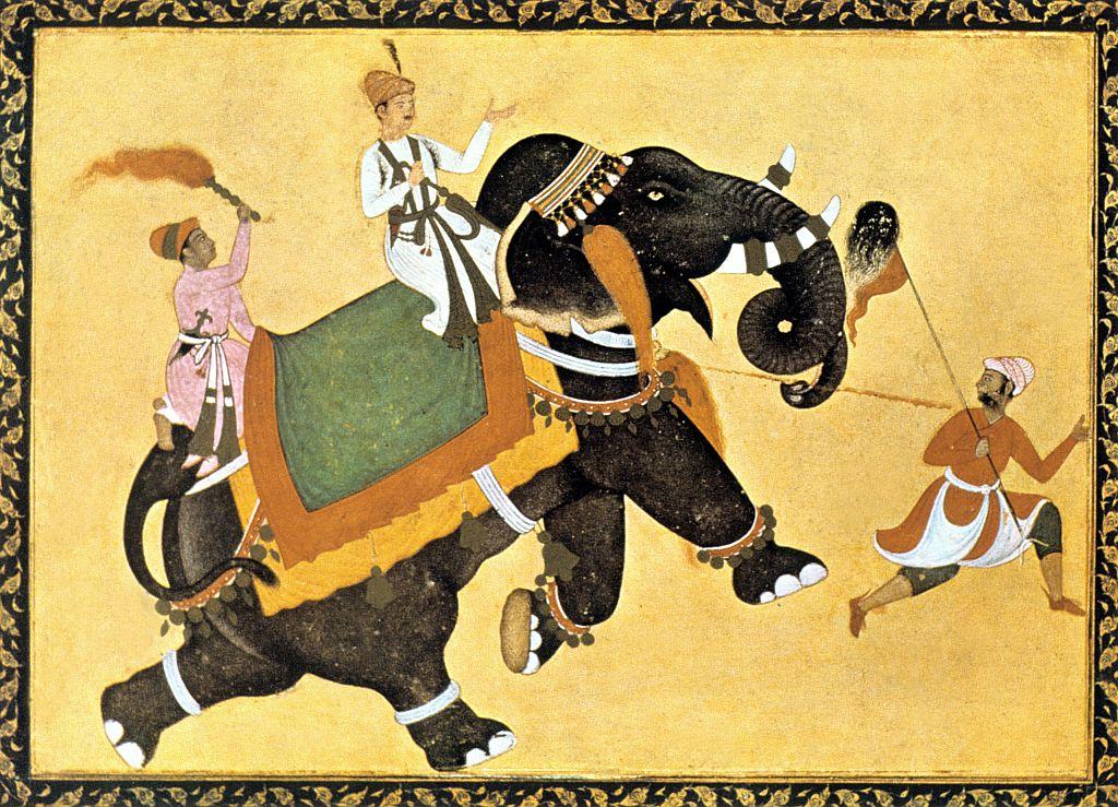 Painting of Akbar