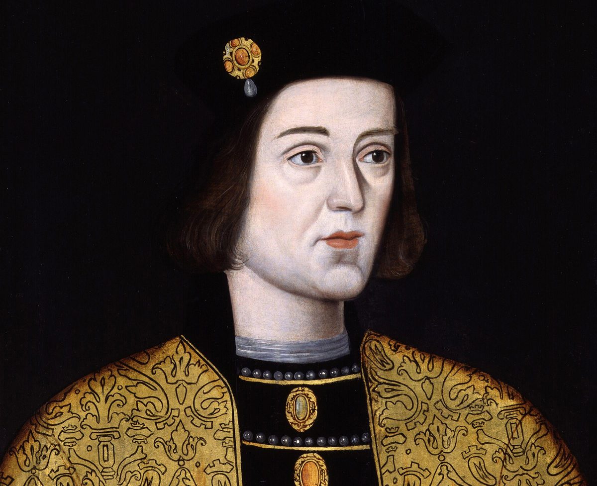 King Edward IV by an unknown artist, oil on panel, late 16th century
