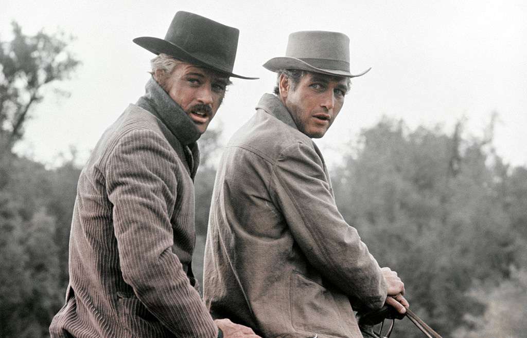 On the set of Butch Cassidy and the Sundance Kid