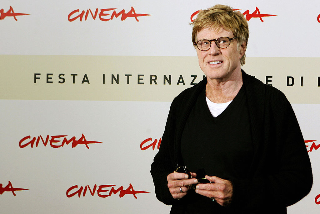 Redford at the photocall for