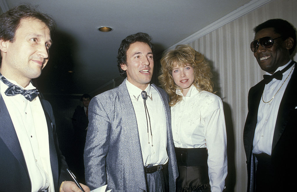 Springsteen and Julianne Phillips