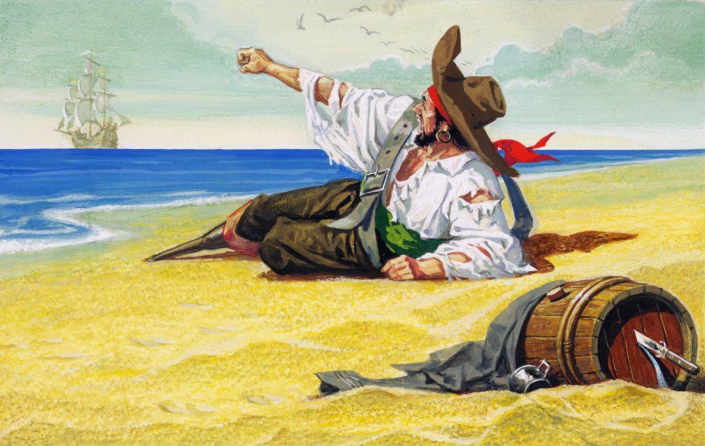 Pirate marooned