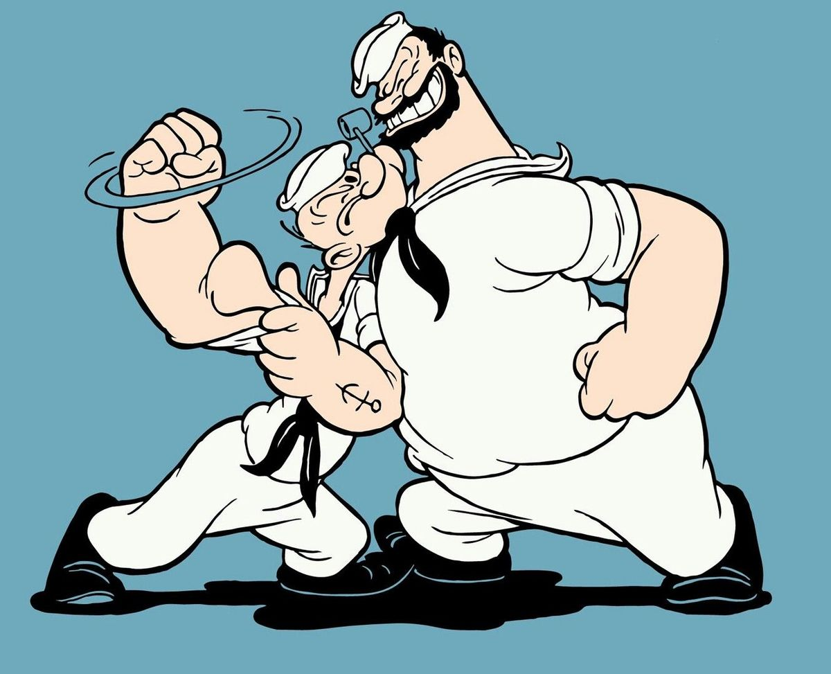 "There Is A ""Banned"" Popeye Comic"