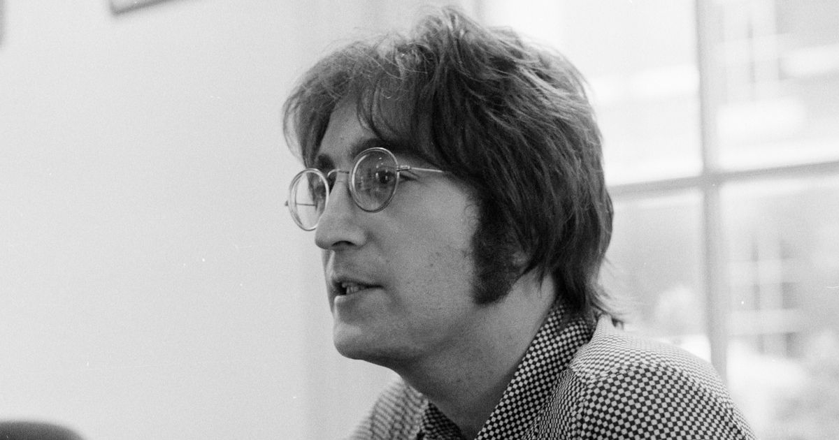 ohn Lennon being interviewed in 1971