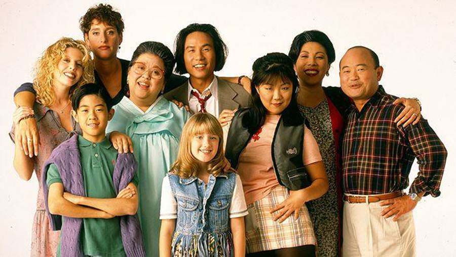 All-American Girl starred a largely Asian-American cast