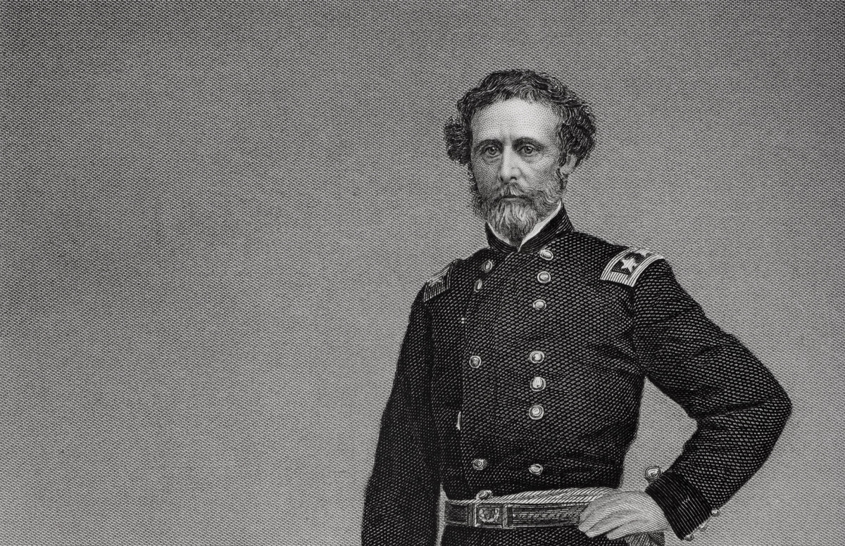 john c fremont bought alcatraz for 5,000 dollars