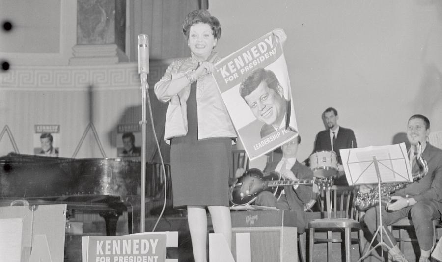 Garland Was Friends With JFK