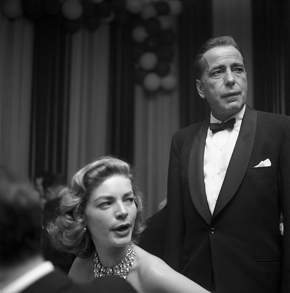 lauren bacall and humphrey bogart at the oscars