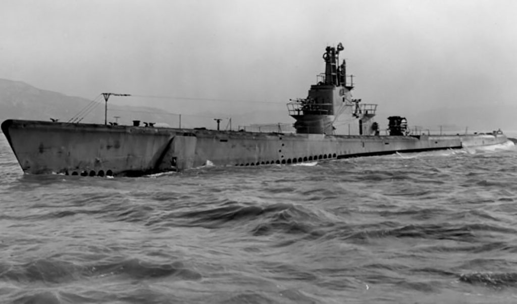 Image of the USS Barb