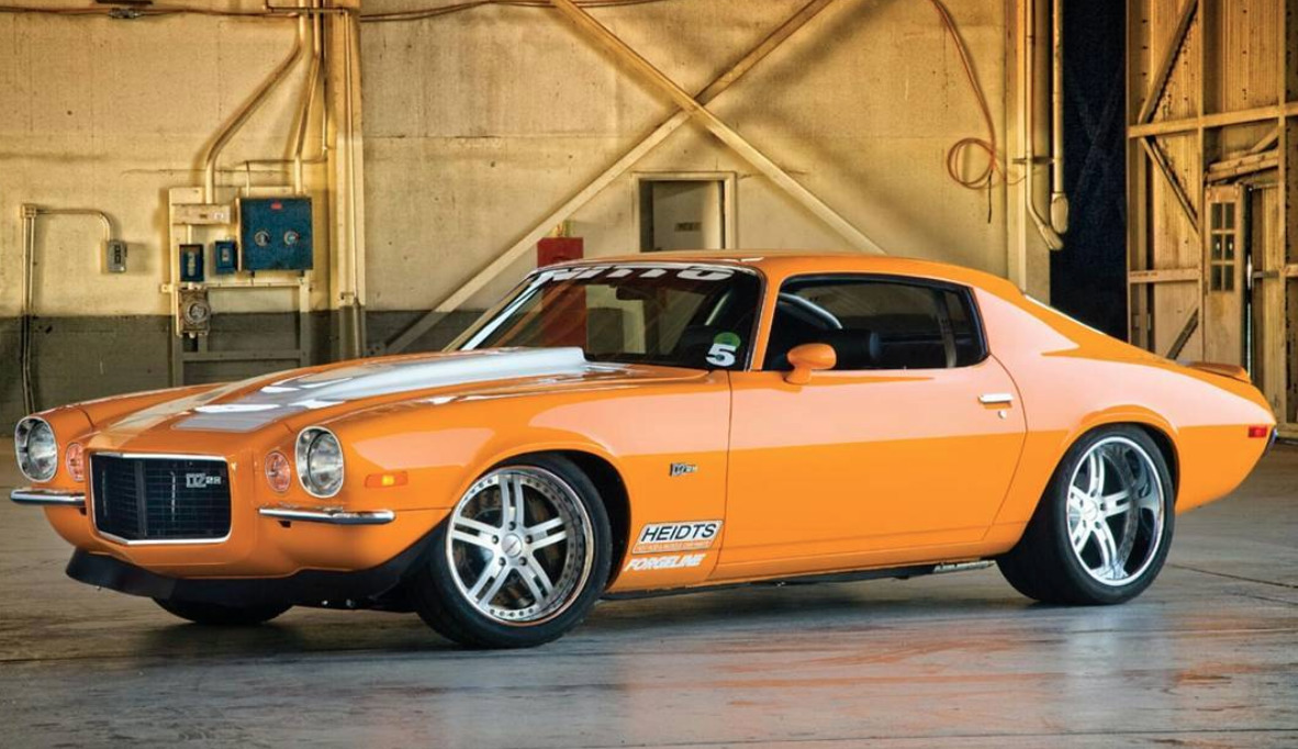 1976 Chevrolet Camaro worst muscle cars