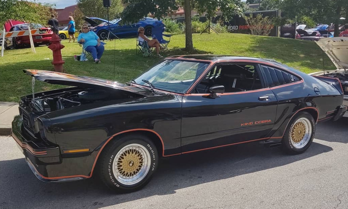 1978 Ford Mustang King Cobra worst muscle cars