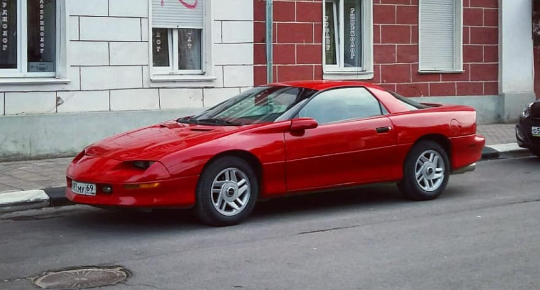 1993 Chevy Camaro worst muscle cars
