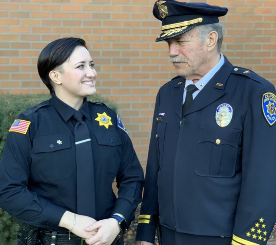 father and daughter in law enforcement