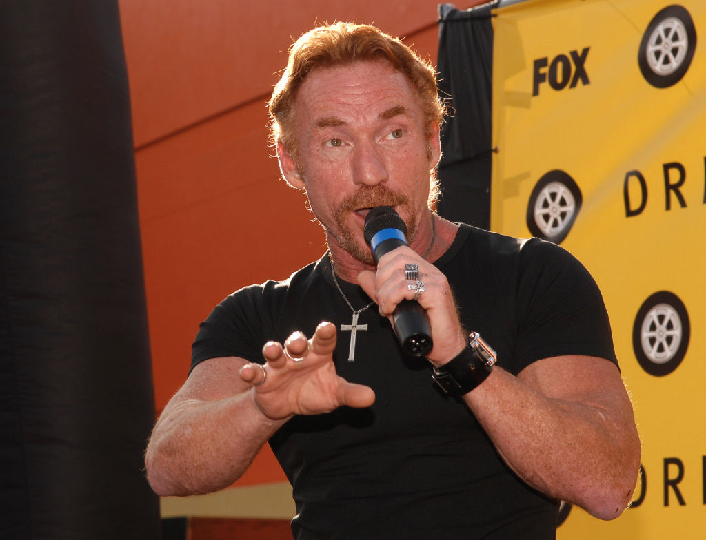 Danny Bonaduce during FOX Hosts