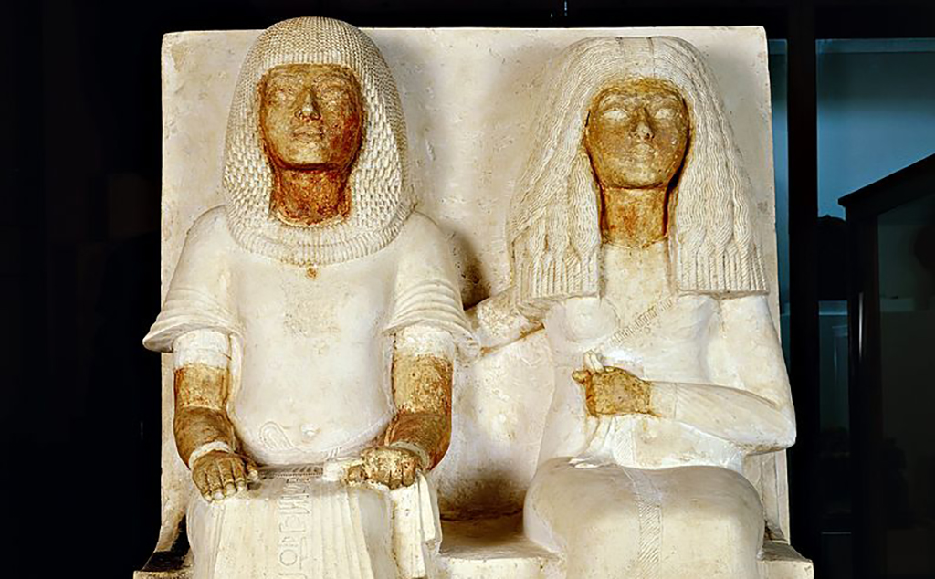 Tut and his wife