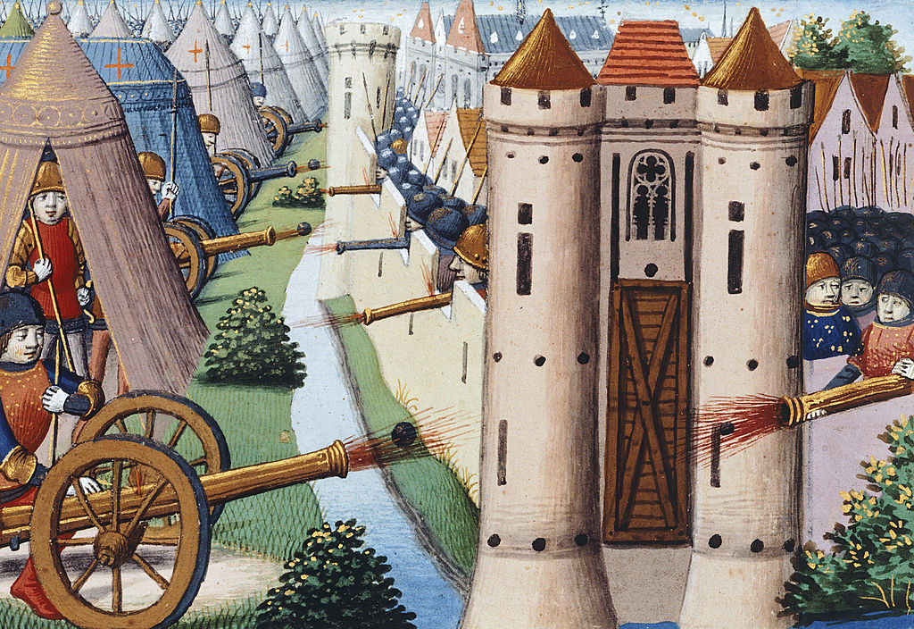 The siege of Rouen