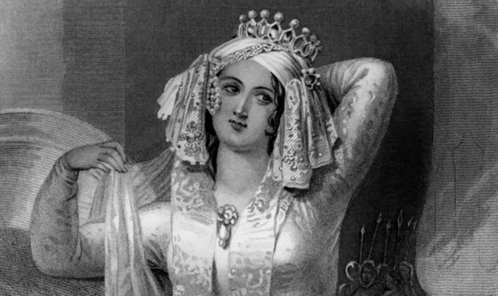 Drawing of Cleopatra