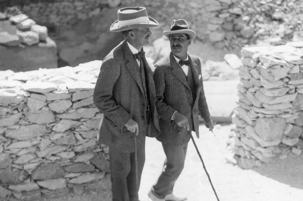 Photograph of Howard Carter and Carnarvon