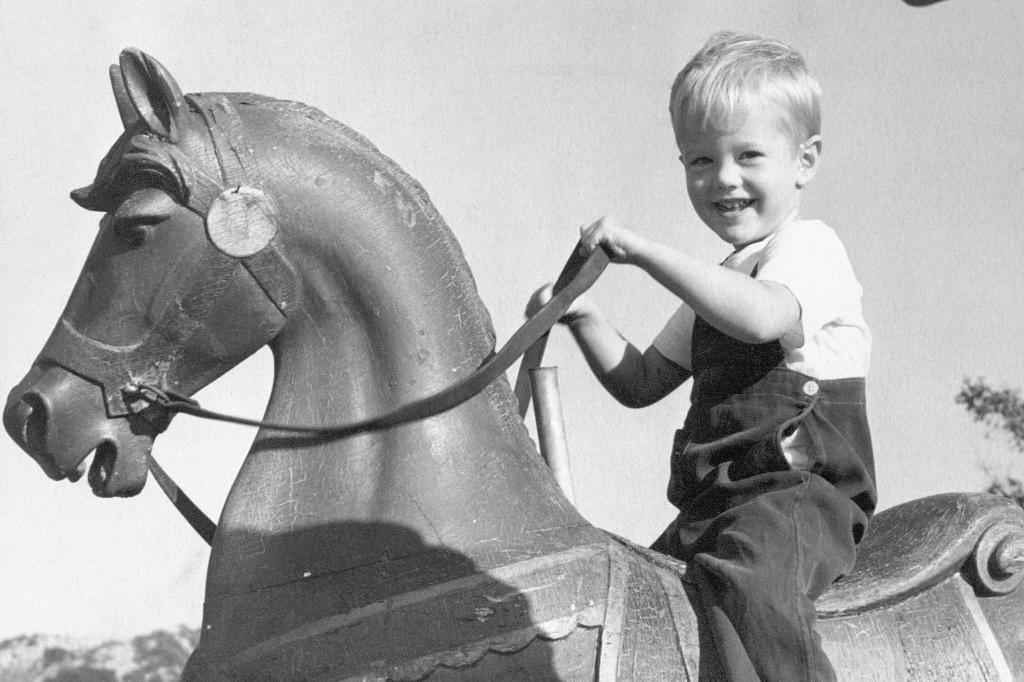 Peter Fonda as a little boy