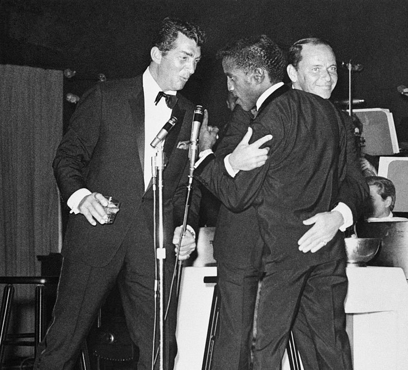 The Rat Pack Would Show Up At Each Others Performances