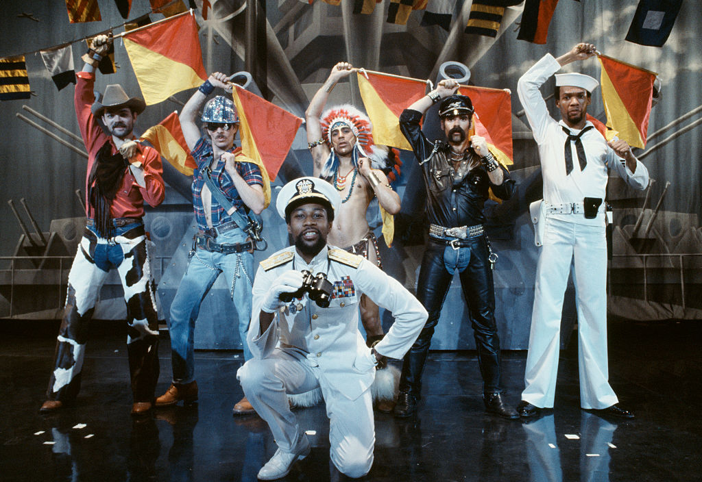 a still image of the village people