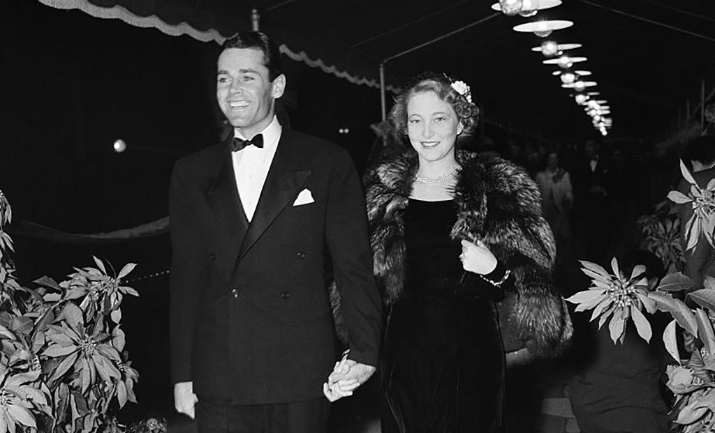 Henry Fonda and Frances